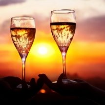 Salty-Sister-Sunset-with-Wine
